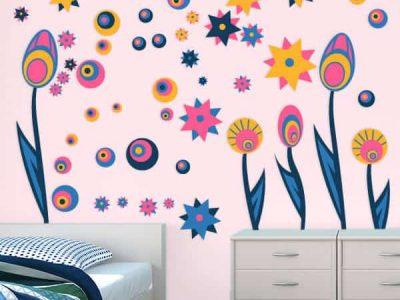 Flowers Room Theme