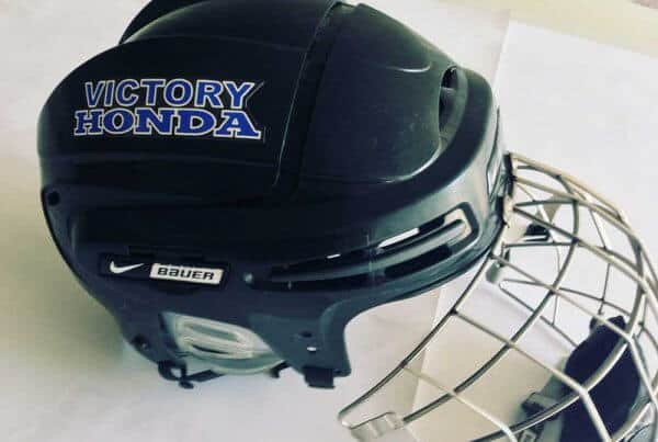 Hockey Helmet Stickers