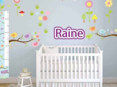 Pattern Birds Removable Wall Graphics