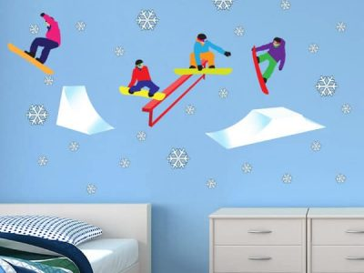 Snowboarding Room Theme