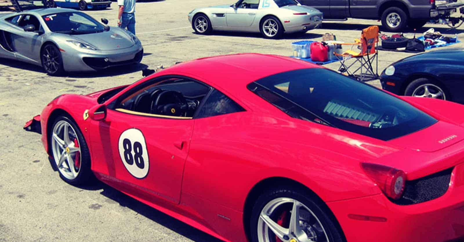 Car safe repositionable sports car stickers sticker genius