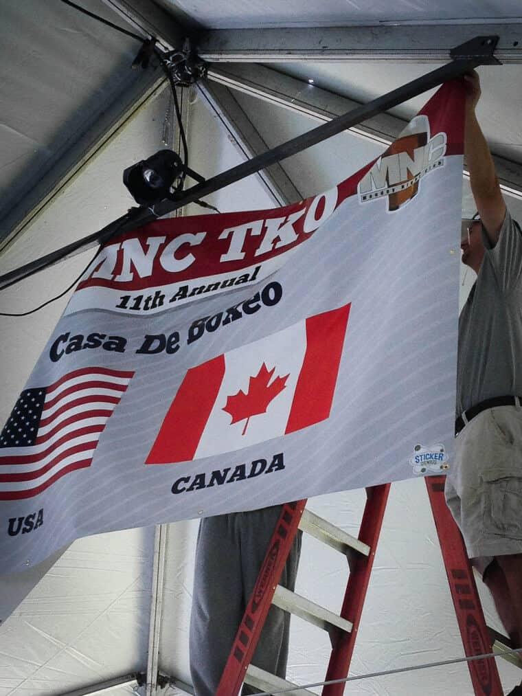 MNC TKO Boxing Banner