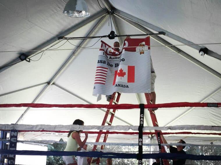 Custom Hanging Banner