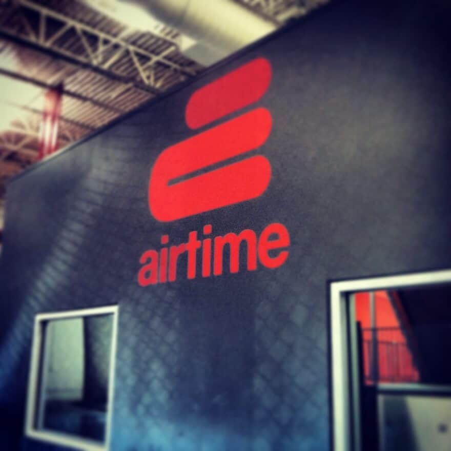 Airtime Trampoline Park Wall graphic