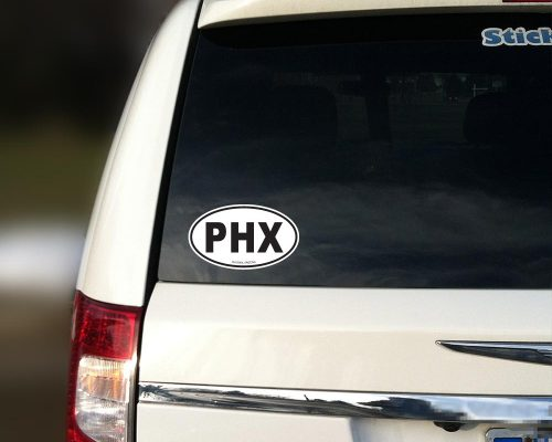 Phoenix car sticker