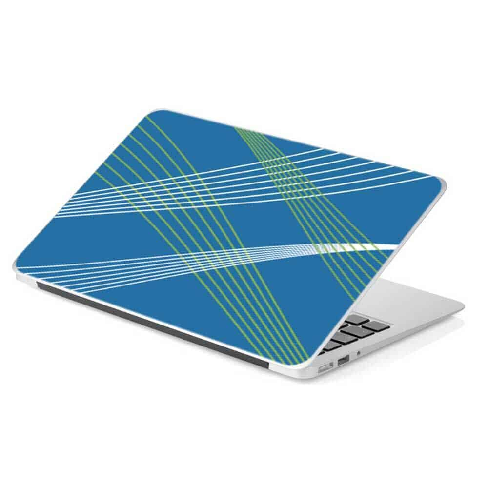 Blue Laptops For Sale Blue Abstract Line Laptop