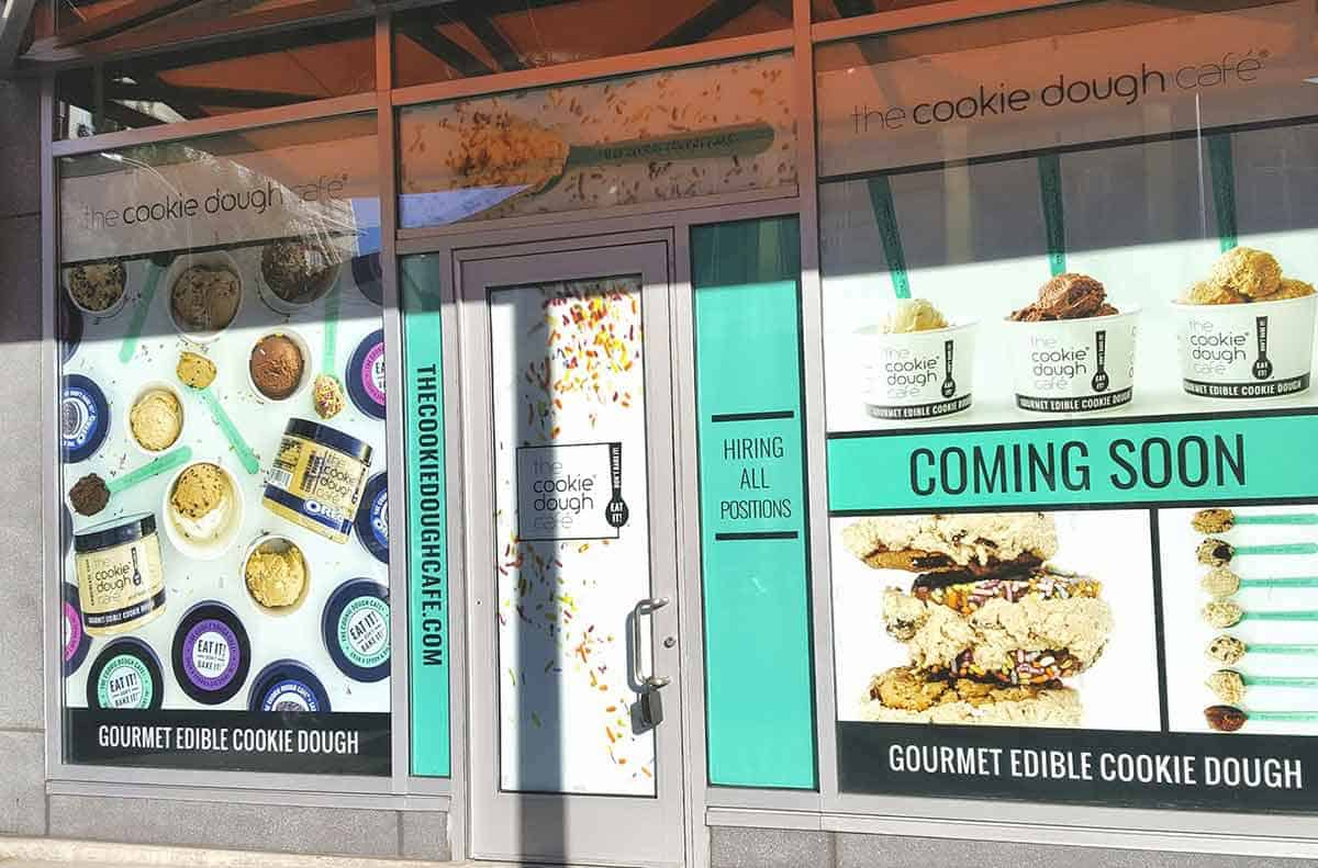 Coming Soon Cafe Window Poster Signs