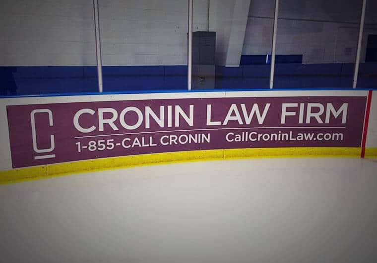 Cronin Law Dasher Board Print
