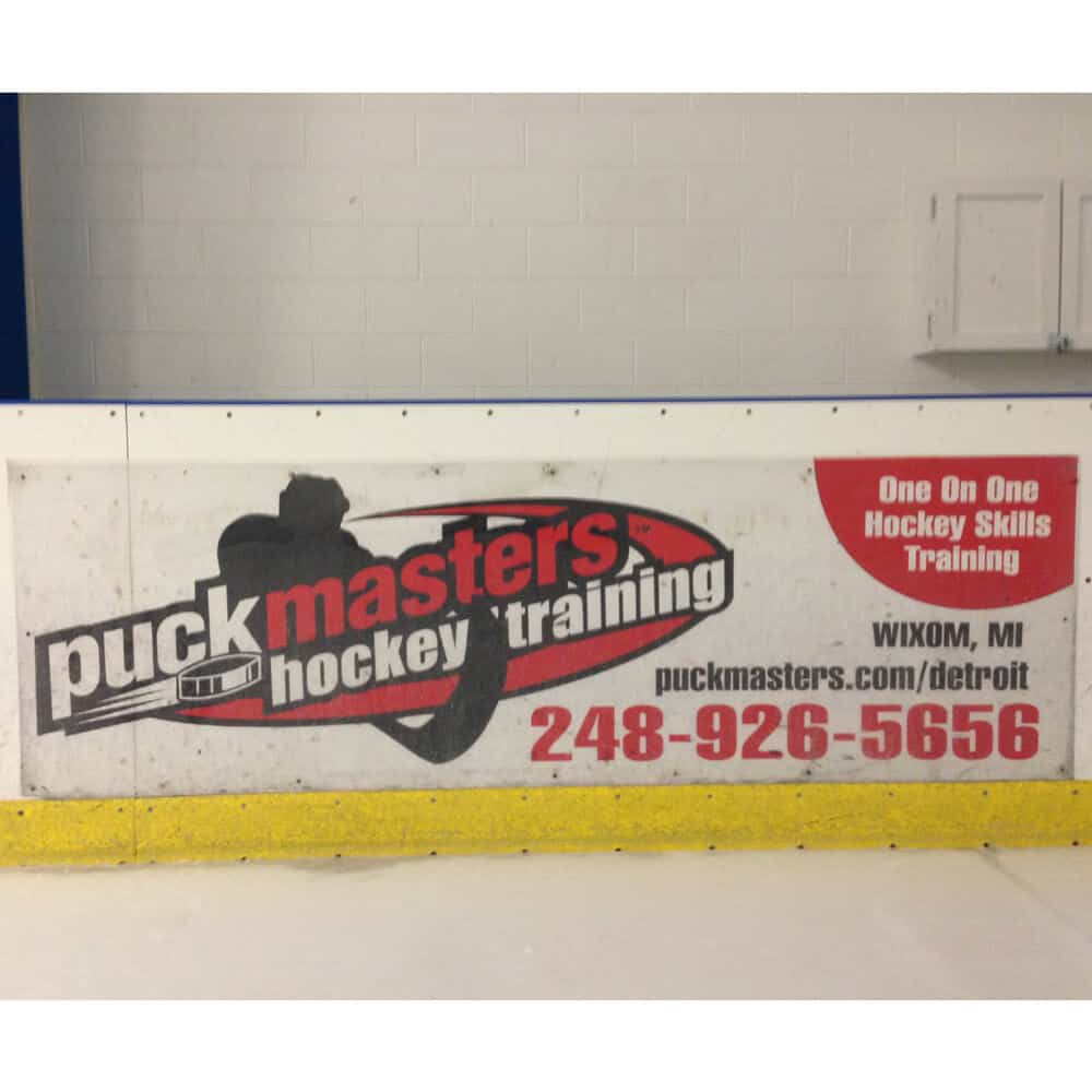 Dasher Board Removable Graphics