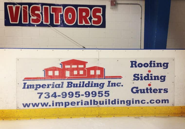 Hockey Dasher Board Stickers