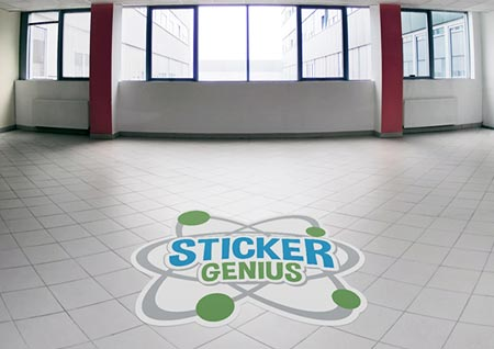 Event Floor Graphic