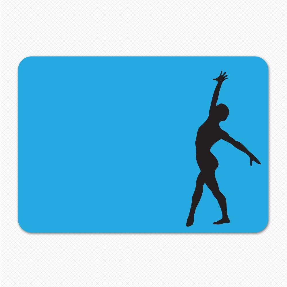 Gymnastics Landing Removable Skin Sticker Genius