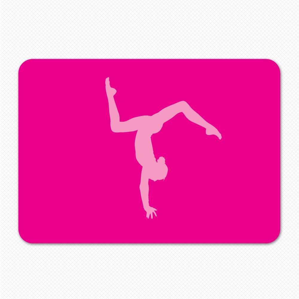 Pink Gymnastics Laptop Sticker Skin Pink Laptop Cover