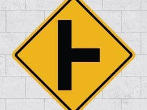 junction wall sign sticker stickleme
