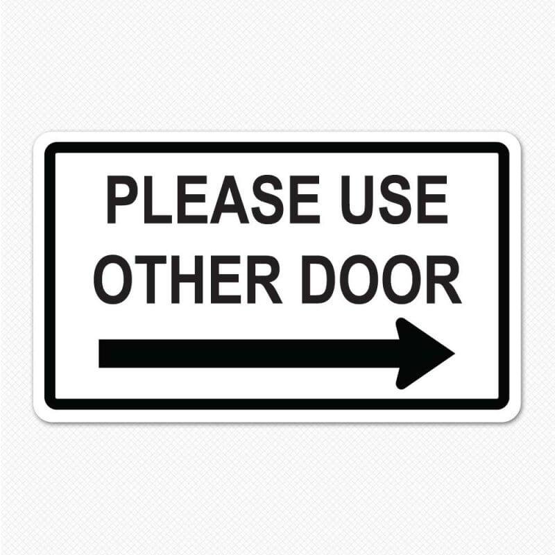 Please Use Other Door Decal Decals For Doors