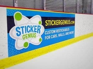 Full Color Hockey Board Prints