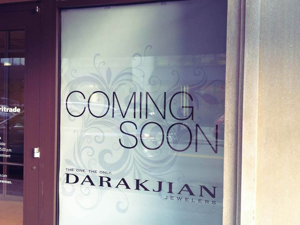 Coming Soon Window Posters
