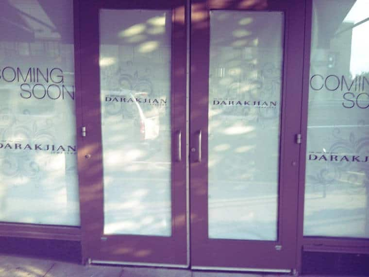 Temporary Door Graphics