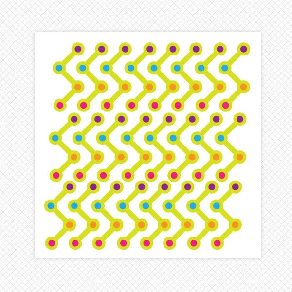line dots room decor wall stickers restickable