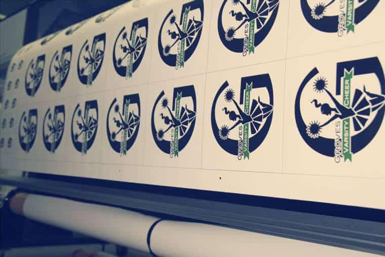Bulk Team Spirit or School Stickers