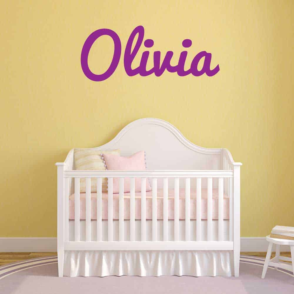 Name Monogram Wall Decals | Wall Stickers Names
