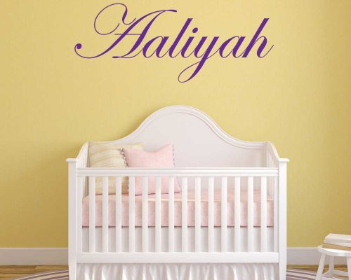 Personalized Name Wall Decals | Custom Name Decals