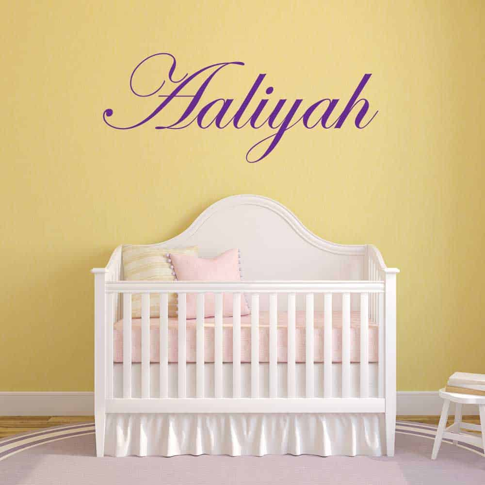 Wall Name Stickers | Removable Wall Sticker | Name Wall Decals