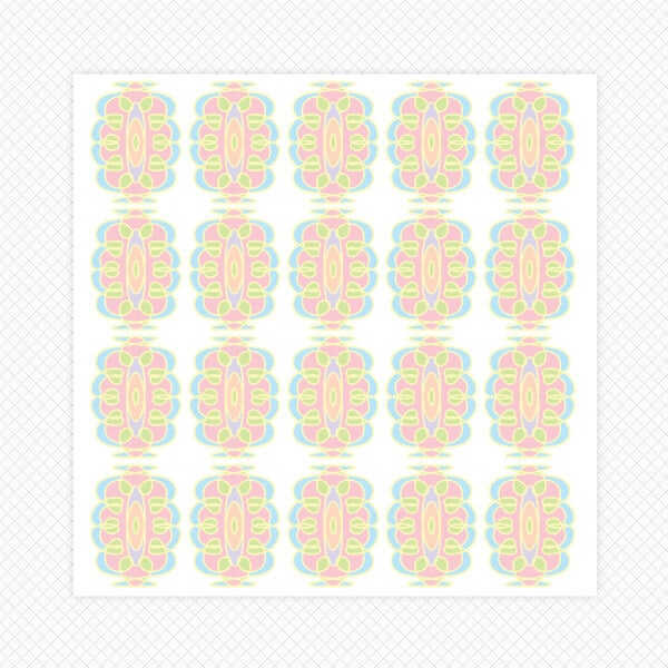 stickers squiggle room decor wall decals graphics pastel