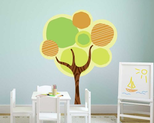Tree Wall Graphics | Wall Tree Decals | Tree Decal for Wall
