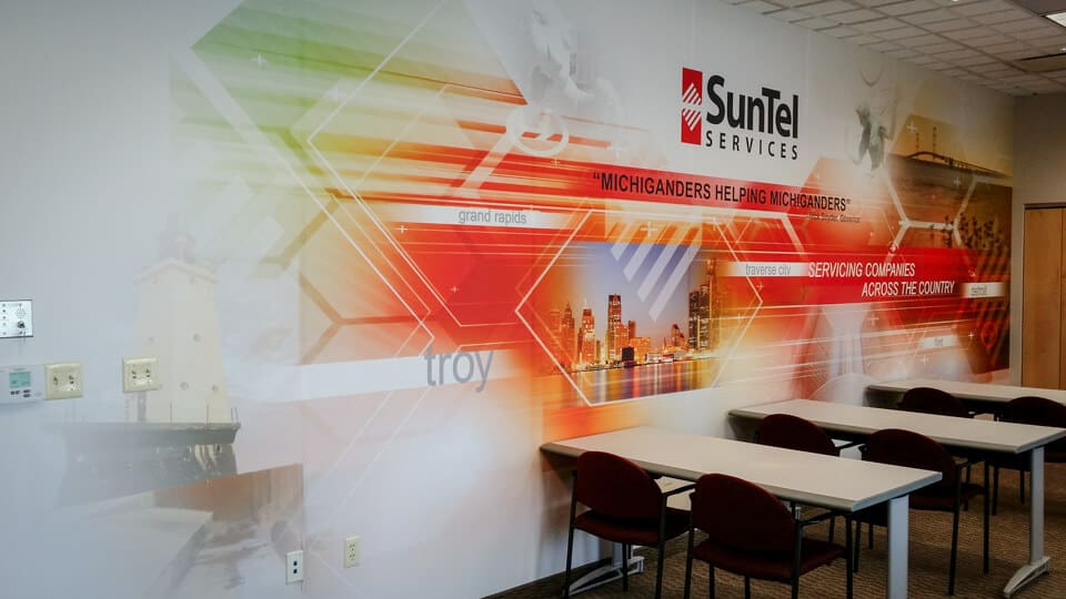 Custom Office Murals Photo