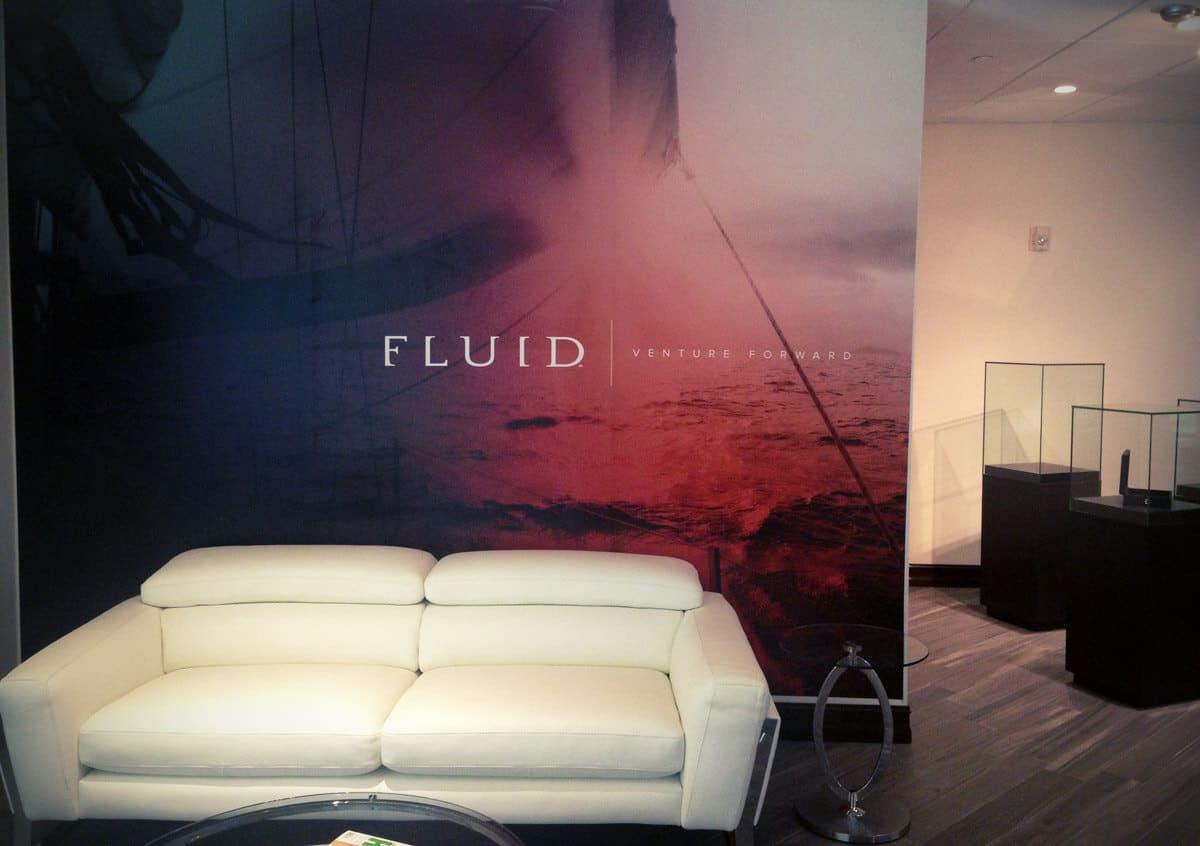 Wall Mural Fluid Spirits Lobby