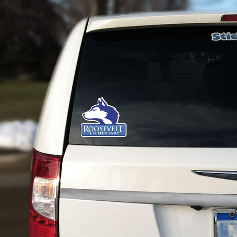 School Car Decals