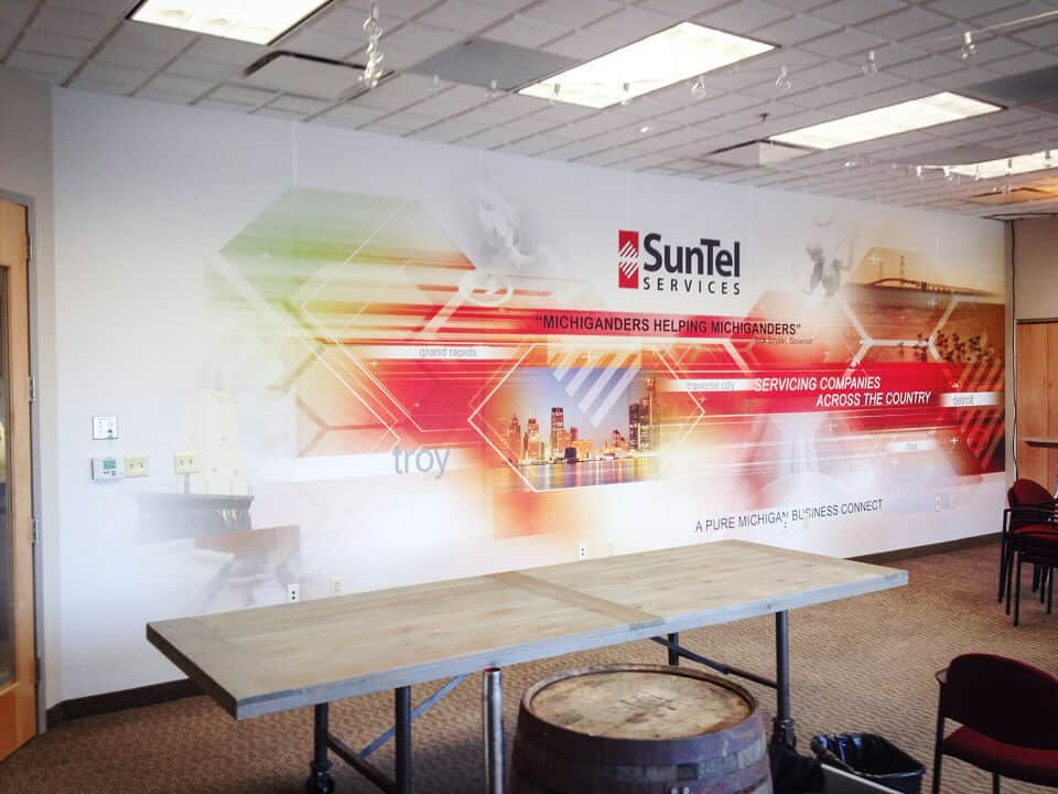 Removable Wall Graphic Mural