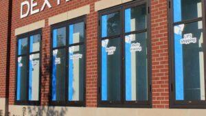 Store Window Theme Decals