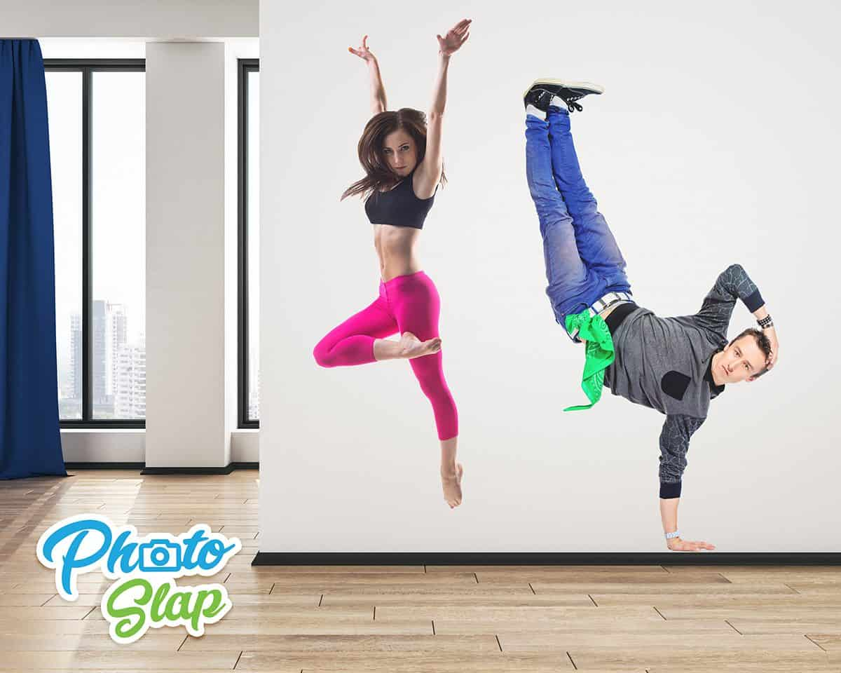 Dance Wall Stickers Of People