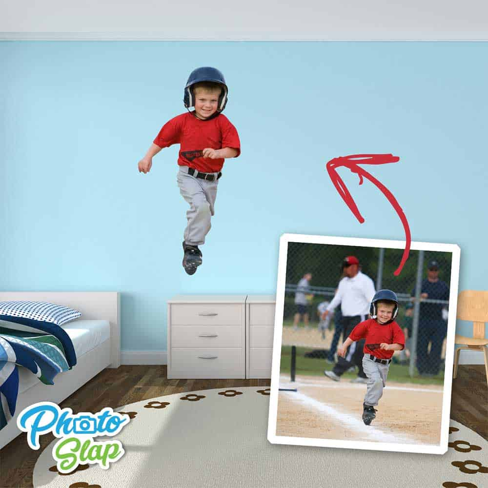 Boy Bedroom Photo Cutout Sticker