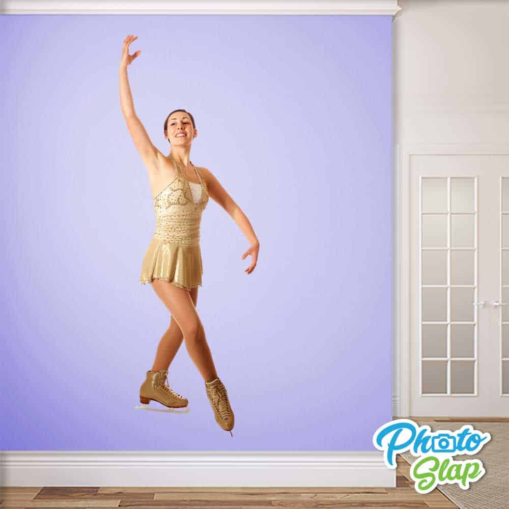 Figure Skater Wall Sticker