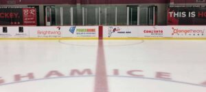 Hockey Rink Dasher Board Prints