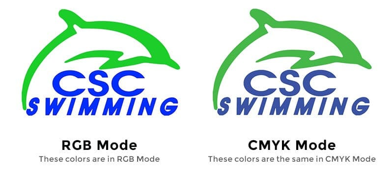 RGB vs CMYK color modes