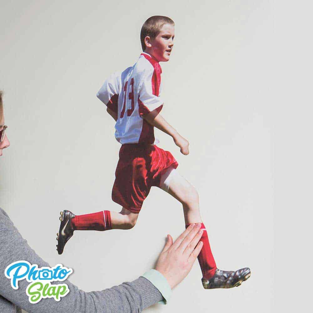 Wall Photo Sticker For Sports Action Shot