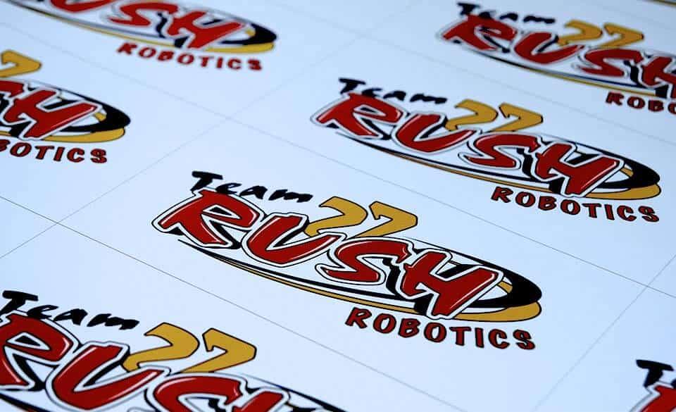 Bulk Vinyl Custom Stickers