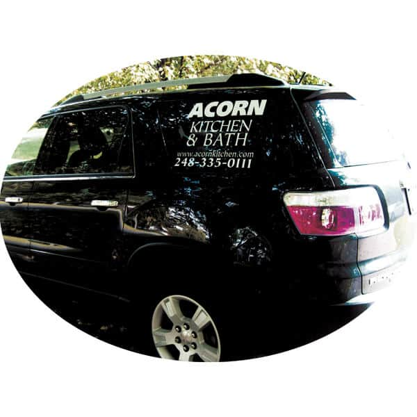 Custom Car Window Stickers Letter Decals For Cars - Custom window clings for cars