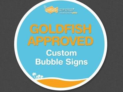 Custom Bubble Signs