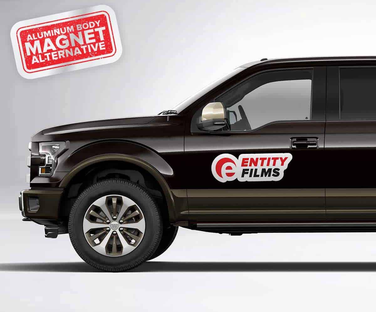 Aluminum truck body reusable stickers ford f 150 magnet alternative