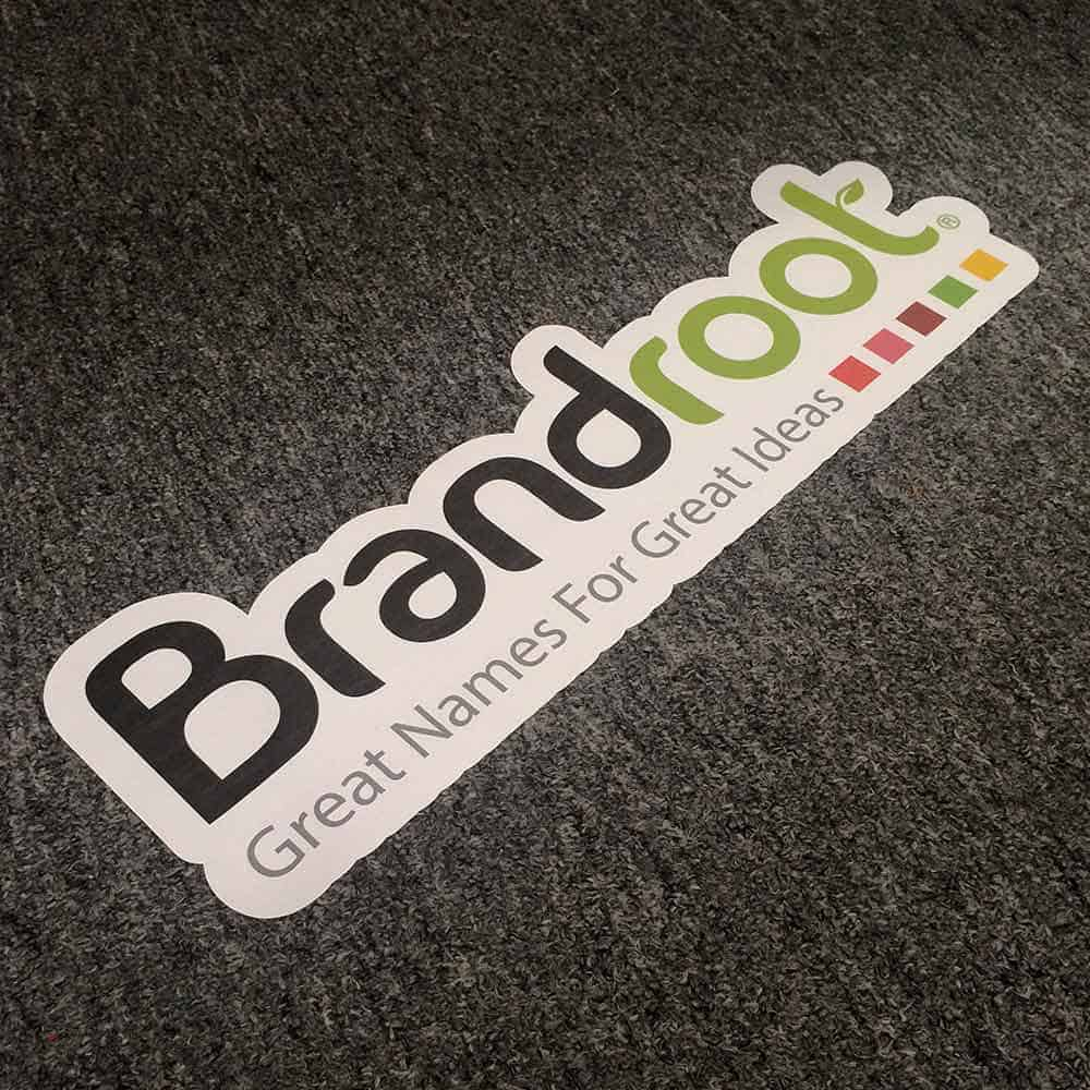 Carpet Graphics Sticker