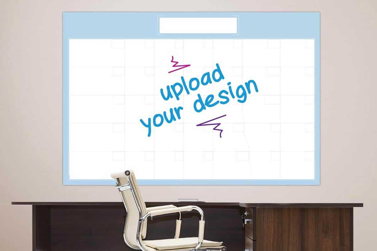Add Custom Design Dry Erase