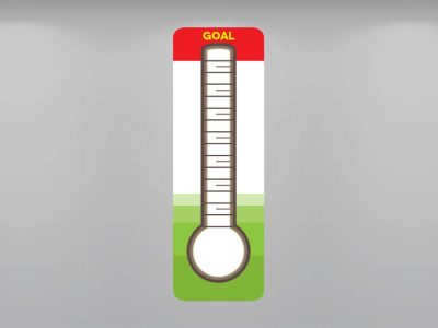 Reach Your Goal Thermometer