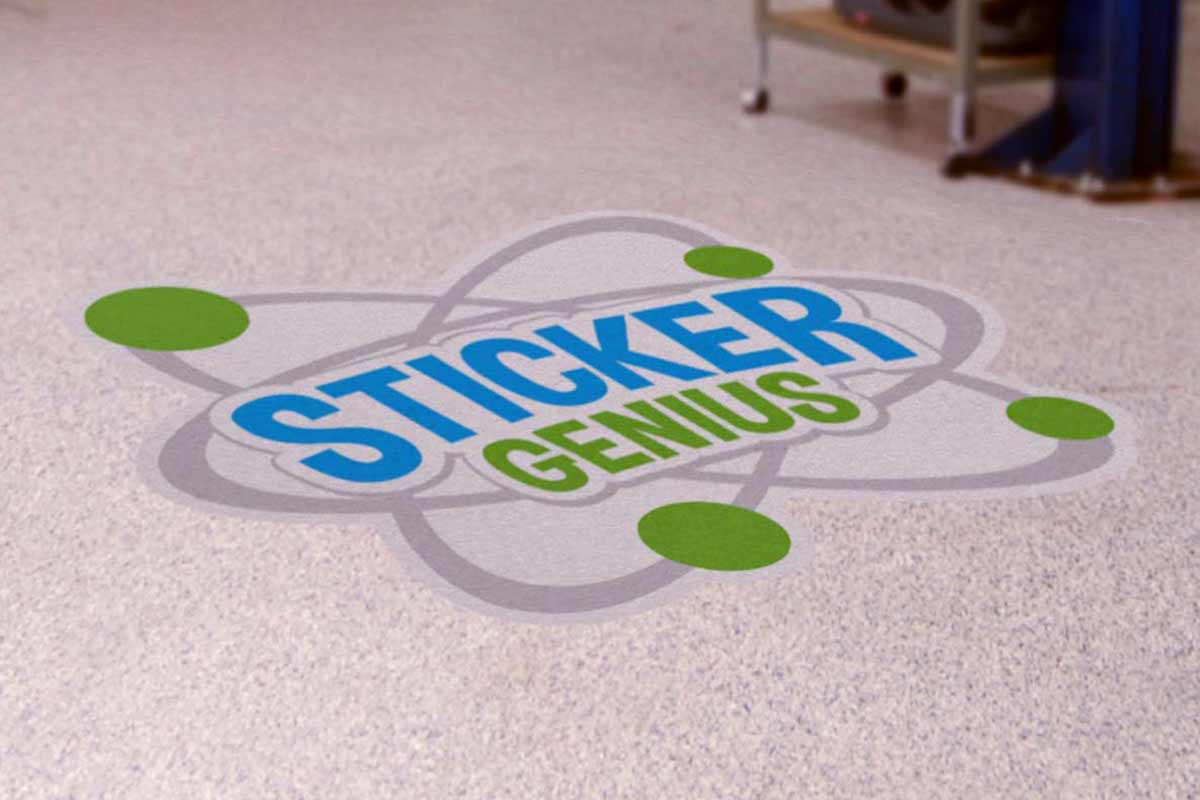 Sticker Genius Restickable Custom Decals And Removable Sign Graphics - Cute custom vinyl stickers   for business