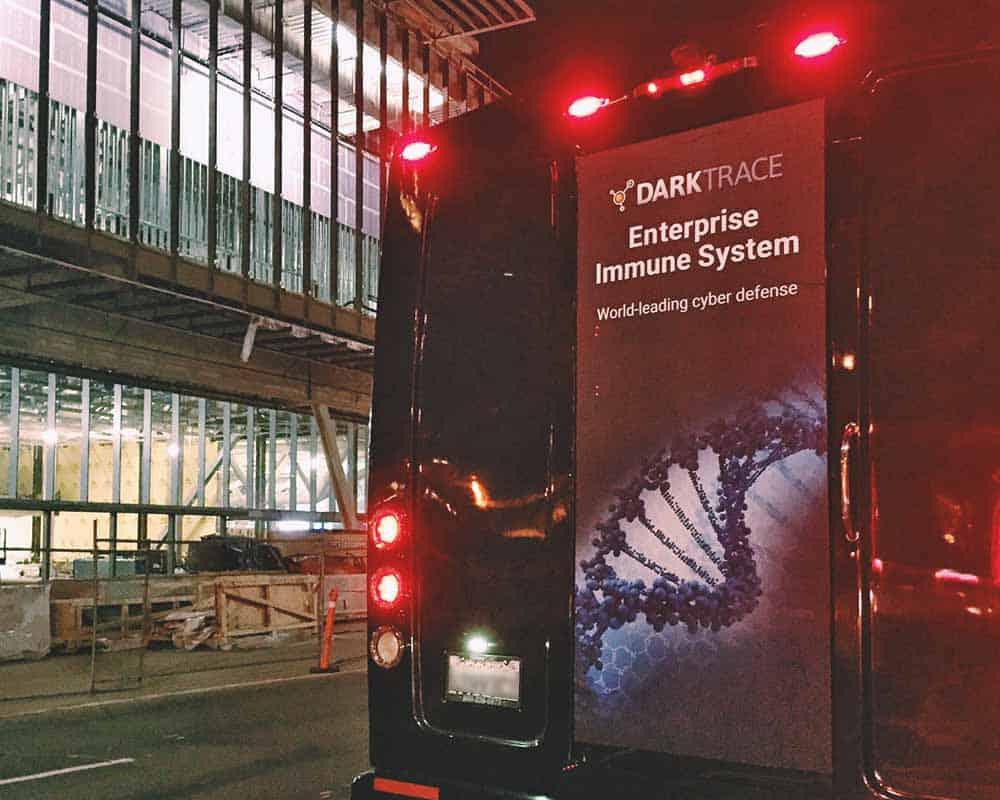 Removable Bus Door Advertising Sticker