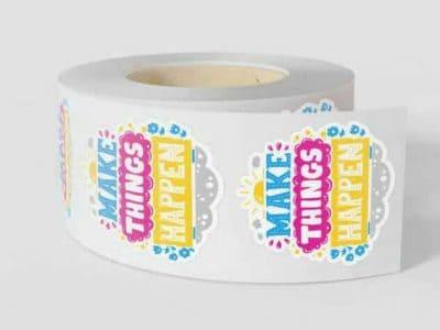 Custom Label Rolls With Stickers
